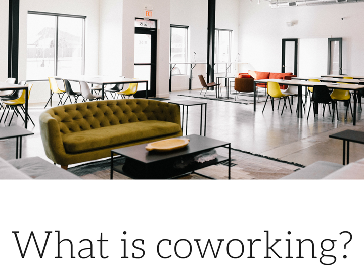 What is Co-working?